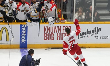 Larkin Leading Red Wings Resurgence
