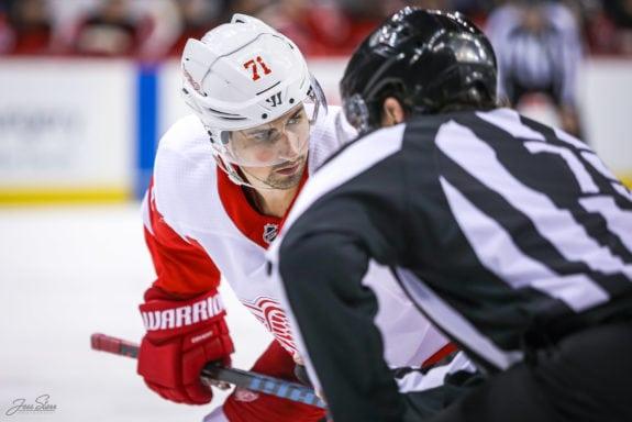 Dylan Larkin of the Detroit Red Wings