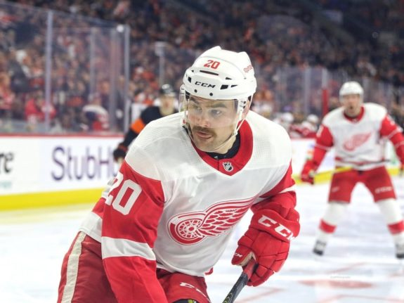 Dylan McIlrath Detroit Red Wings
