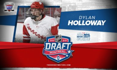 Dylan Holloway- 2020 NHL Draft Prospect Profile