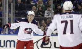 Blue Jackets Edge Rangers to Punch Their Playoff Ticket
