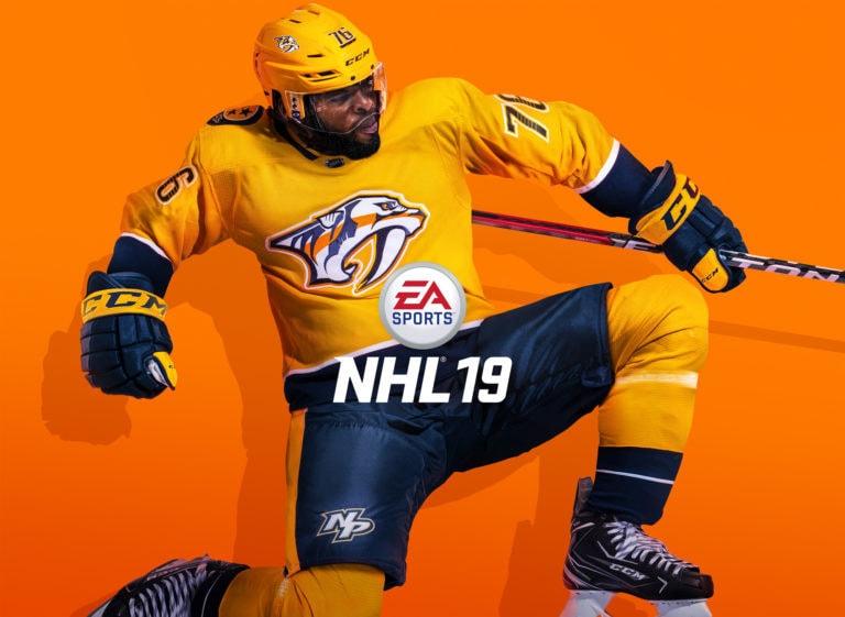 EA SPORTS NHL 19 Cover Athlete P.K. Subban