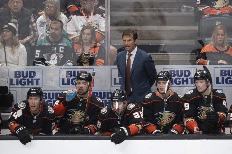 Anaheim Ducks coach Dallas Eakins