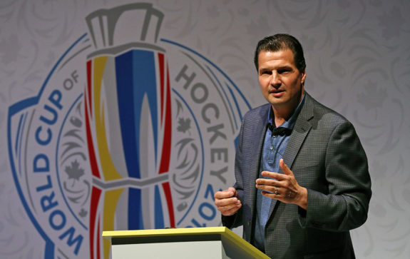 Eddie Olczyk Lead NBC Sports Hockey Analyst