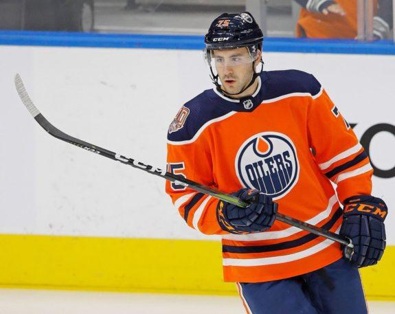 Edmonton Oilers Evan Bouchard