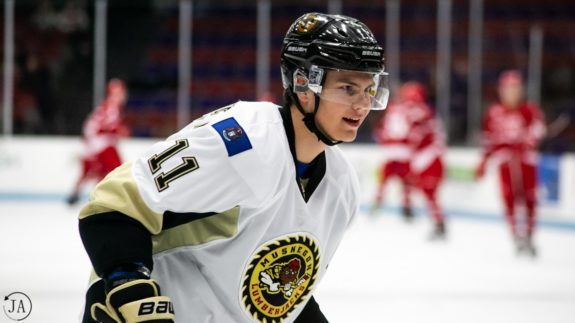 Could the Detroit Red Wings draft Egor Afanasyev of the Muskegon Lumberjacks?