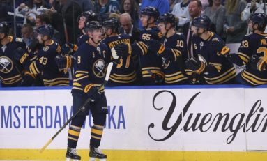 Eichel Scores Twice, Sabres Outlast Maple Leafs 6-4