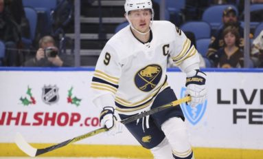 Sabres' Jack Eichel Day to Day with Upper Body Injury