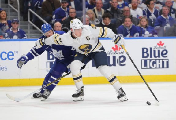 Buffalo Sabres Jack Eichel Toronto Maple Leafs Jason Spezza