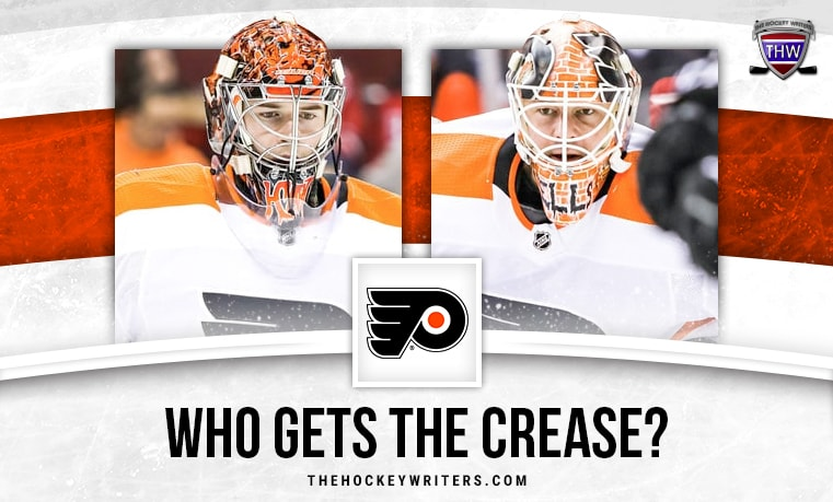 Brian Elliott and Carter Hart Flyers' Potential Starting Goalies For Round-Robin Matchups