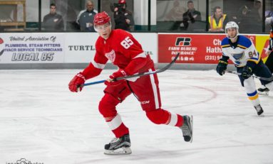 The Grind Line: Red Wings' Prospect Tournament Stand Outs & Step Ups