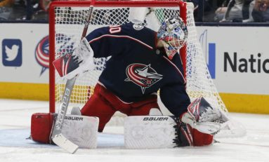 Rookie Elvis Merzlikins Shines for Streaking Blue Jackets