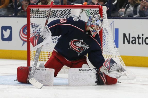 Columbus Blue Jackets Elvis Merzlikins