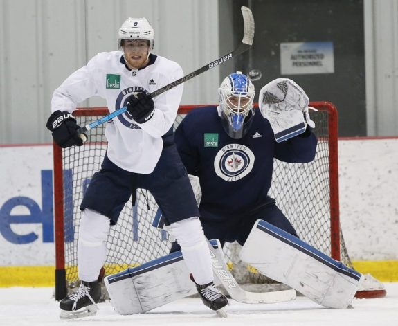 Winnipeg Jets Andrew Copp Eric Comrie