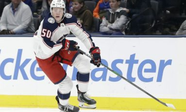 Blue Jackets Sign Eric Robinson for 2 More Years