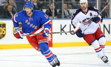 Eric Staal's First Game as a Ranger