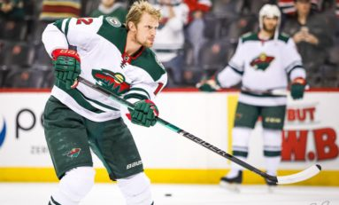 Staal, Zuccarello Lead Wild Past Red Wings 4-2