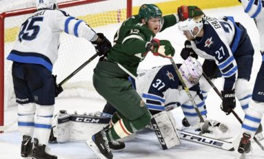 d827a540c5b Eric Staal Caps Wild Comeback in 4-2 Win Against Jets