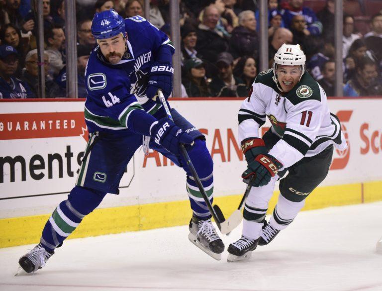 Erik Gudbranson, NHL, Vancouver Canucks