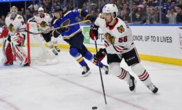 Blackhawks Win 5-4 Over Panthers