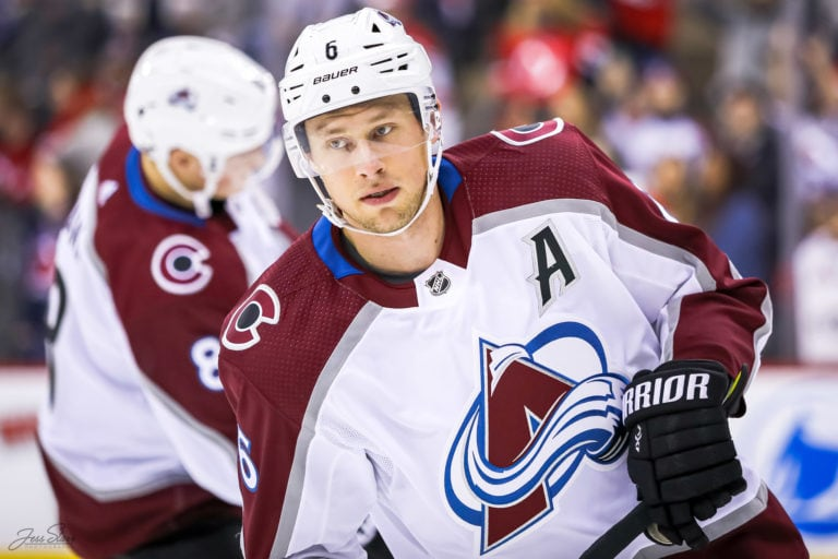 Erik Johnson Colorado Avalanche