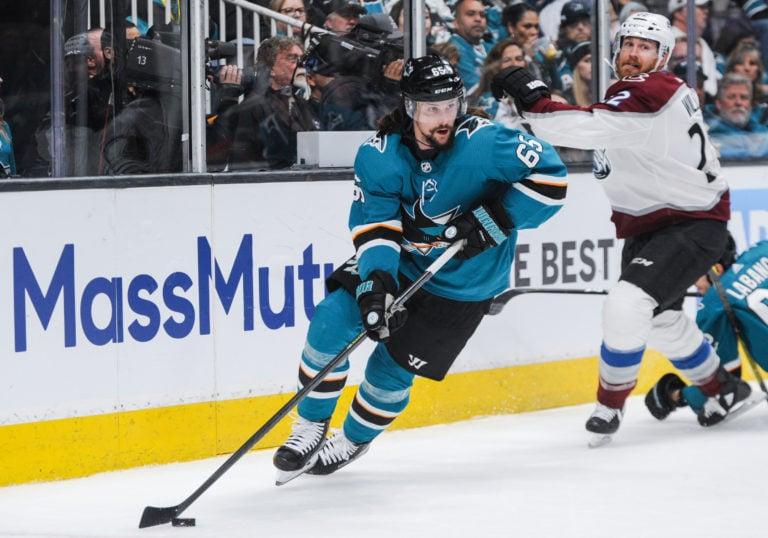 San Jose Sharks defenseman Erik Karlsson