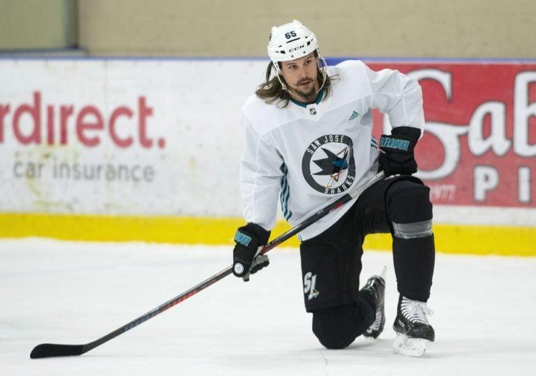 San Jose Sharks Erik Karlsson