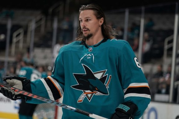 Sharks defenseman Erik Karlsson