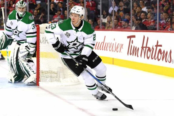 Dallas Stars defenseman Esa Lindell