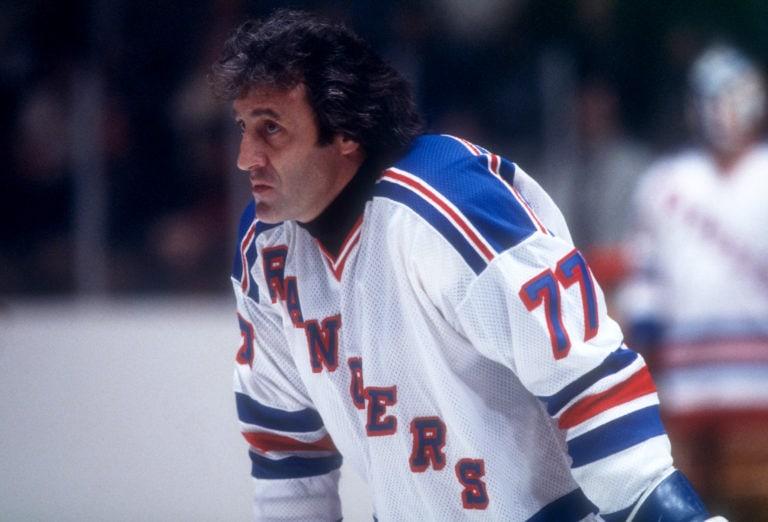 Phil Esposito New York Rangers