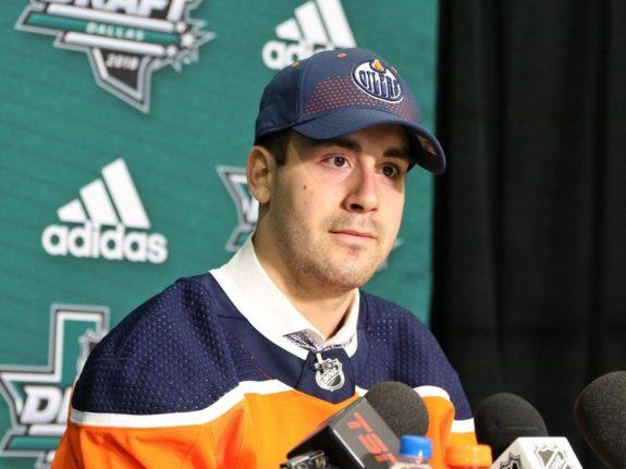 Evan Bouchard, Oilers
