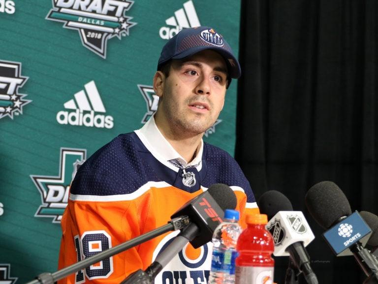 Evan Bouchard Oilers