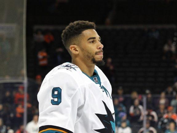 Evander Kane San Jose Sharks
