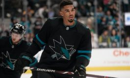 Sharks' Kane Suspended Three Games for Elbowing Jets' Pionk