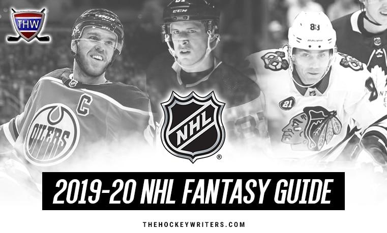 2019-20 NHL Fantasy Guide Connor McDavid Patrick Kane Sidney Crosby