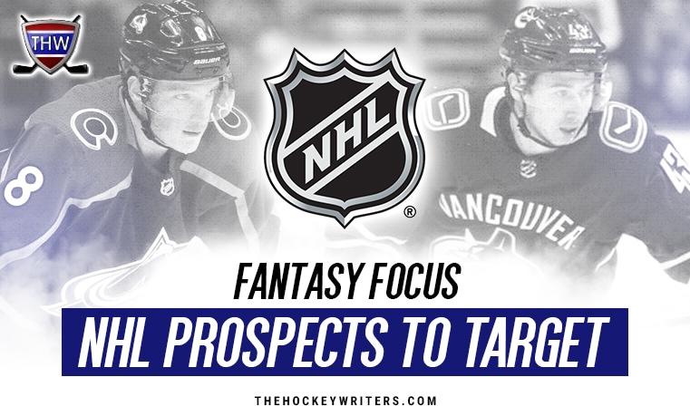NHL Fantasy Focus Prospects to target Cale Makar Quinn Hughes