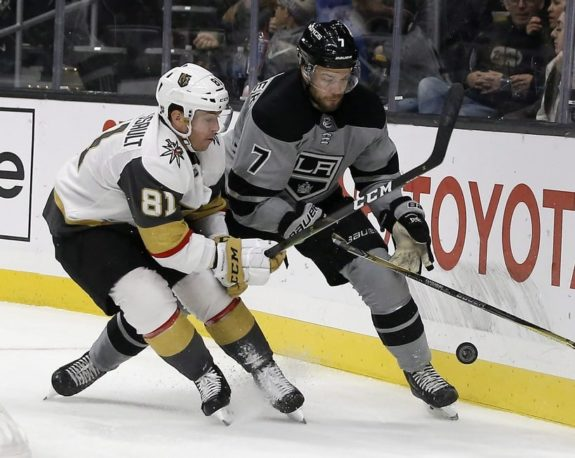 Vegas Golden Knights Jonathan Marchessault Los Angeles Kings Oscar Fantenberg