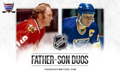 Top 5 Father-Son Duos in NHL History