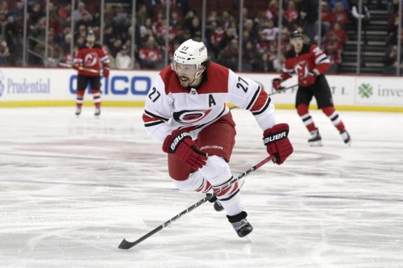 Carolina Hurricanes Justin Faulk