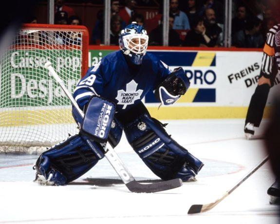 Felix Potvin Toronto Maple Leafs