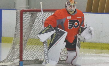 Flyers Sign Top Goalie Prospect Sandström