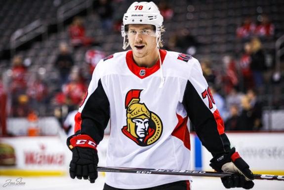 Filip Chlapik Ottawa Senators