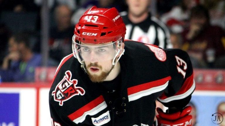 Filip Hronek Grand Rapids Griffins Detroit Red Wings