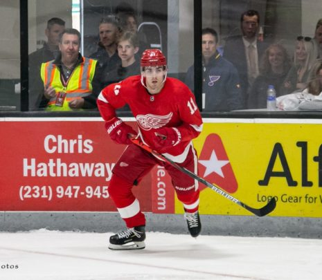 The Grind Line: Projecting the Red Wings' Opening Night Roster