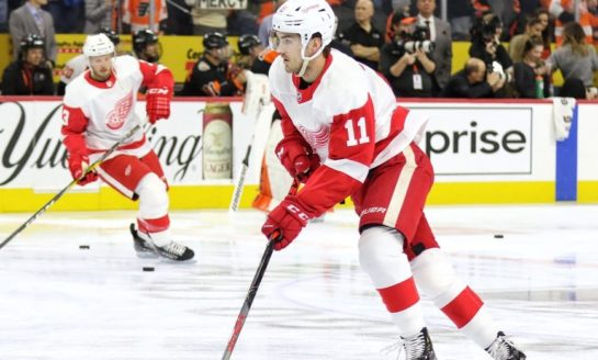 Injuries Slowing Red Wings' 2018 Draft Class
