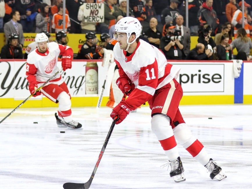 Filip Zadina Detroit Red Wings