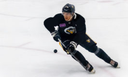 Filip Hallander Sole Penguins Prospect at World Juniors