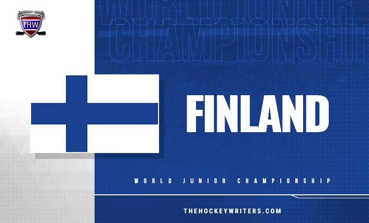 2021 World Junior Championship Team Finland Final Roster