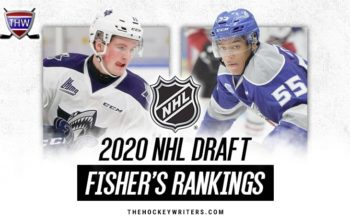 2020 NHL Draft Rankings: Fisher's Top 350 for April