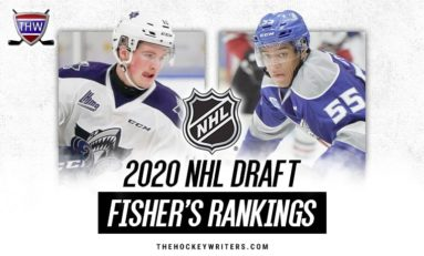2020 NHL Draft Rankings: Fisher's Top 186 for November